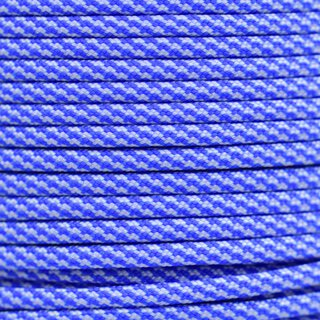 Paracord Typ 3 colonial blue / white cc