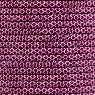 Paracord Typ 3 rose pink burgundy diamonds