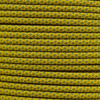 Paracord Typ 3 goldenrod moss diamonds