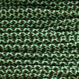 Paracord Typ 1 mint olive darb diamonds