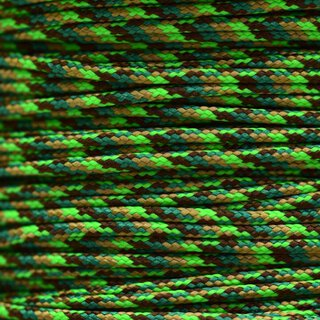 Paracord Typ 1 neon green flame