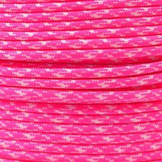 Paracord Typ 3 neon pink w/ white camo