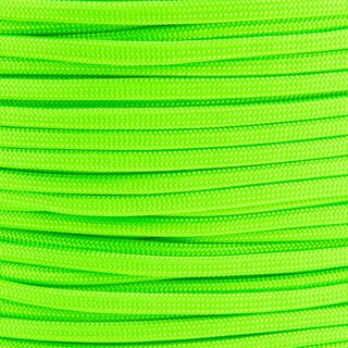 Paracord Typ 3 signal green