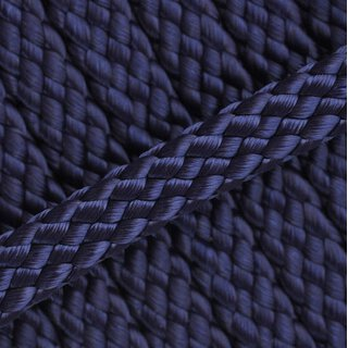 PPM Hohlseil 8mm 12-fach geflochten midnight blue