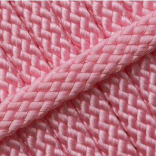 PPM Hohlseil 8mm 12 fach geflochten rose pink