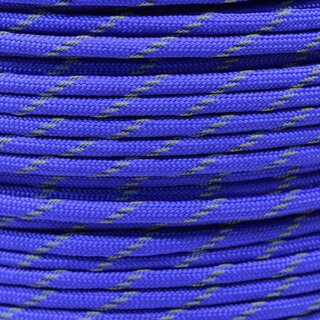 Paracord Typ 3 reflektierend royal blue