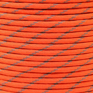 Paracord Typ 3 reflektierend neon orange