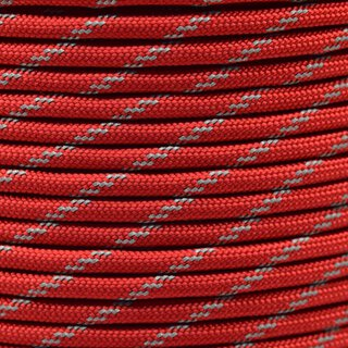Paracord Typ 3 reflektierend imperial red