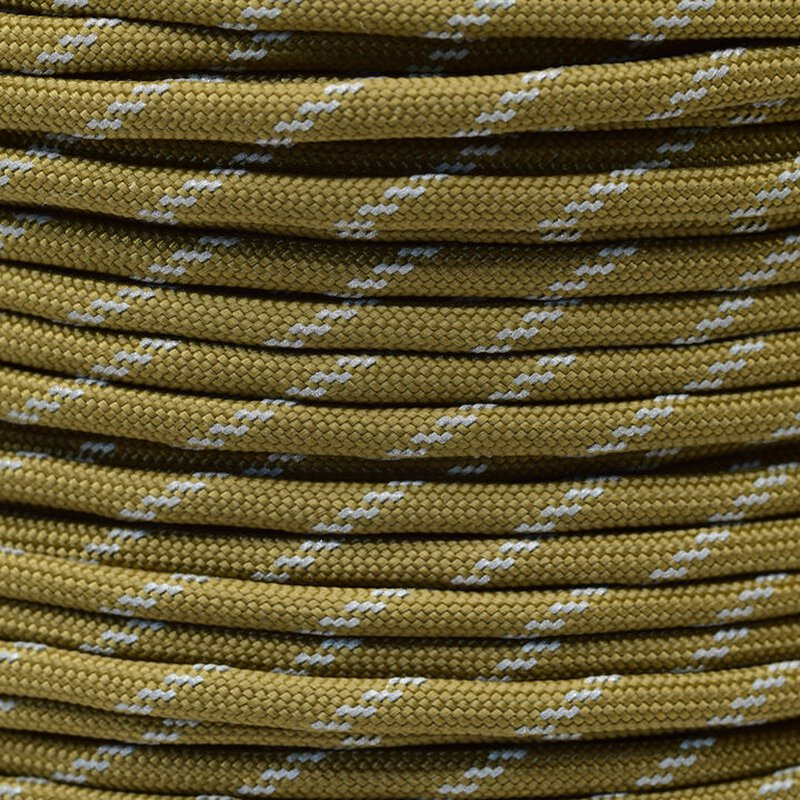 Paracord Typ 3 reflektierend coyote brown