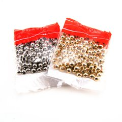 CCB Beads golden, Loch 2.2 mm, 200 Stk.