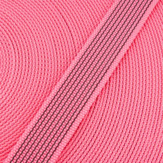 Antirutsch Gurtband pink 15 mm