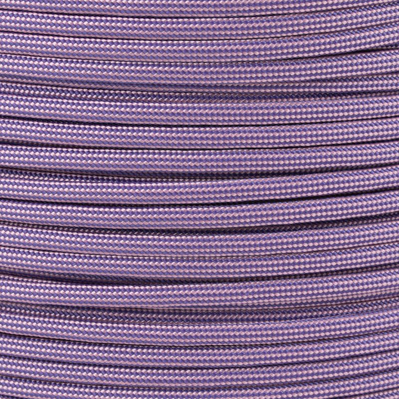 Paracord Typ 3 purple / lavender pink stripe