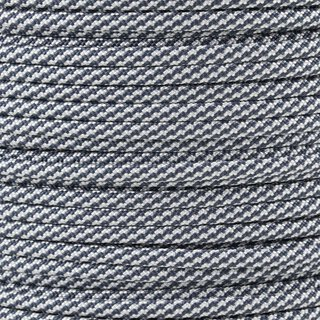 Paracord Typ 3 navy blue white cc