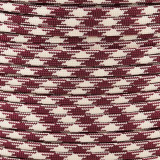 Paracord Typ 3 burgundy cream 50/50