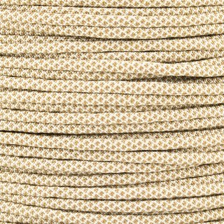 Paracord Typ 3 cream gold brown diamonds