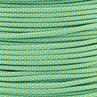 Paracord Typ 3 moss turquoise diamonds
