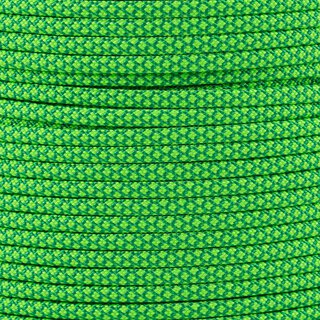 Paracord Typ 3 kelly green neon green diamonds