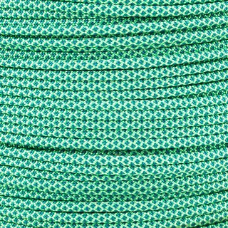 Paracord Typ 3 mint teal diamonds