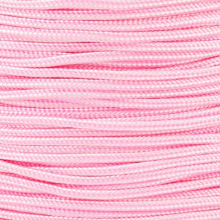 Paracord Typ 2 white rose pink stripe