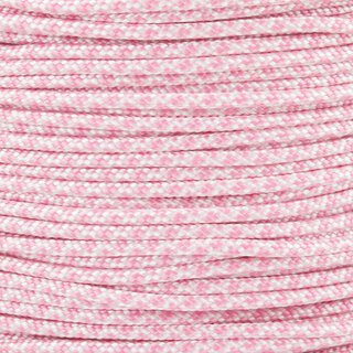 Paracord Typ 2 white lavender pink diamonds