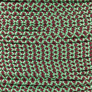 Paracord Typ 2 mint burgundy diamonds