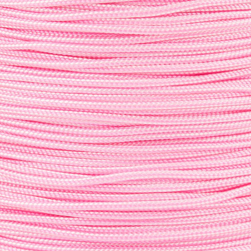 Paracord Typ 1 white rose pink stripe