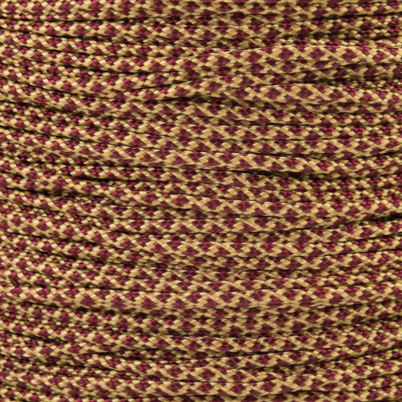 Paracord Typ 1 gold burgundy diamonds