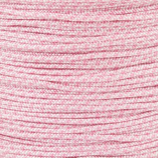 Paracord Typ 1 white lavender pink diamonds