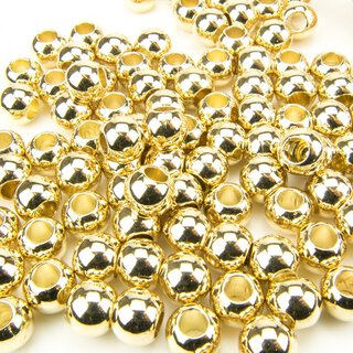 CCB Beads golden, Loch 4.7 mm, 200 Stk.