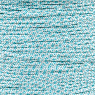 Paracord Typ 1 cream turquoise diamonds