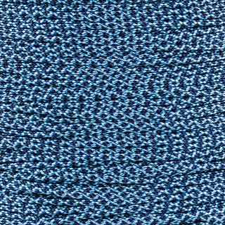 Paracord Typ 1 baby blue midnight blue diamonds