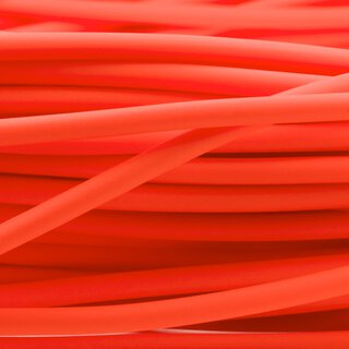 BioThane®  rund - orange 8 mm
