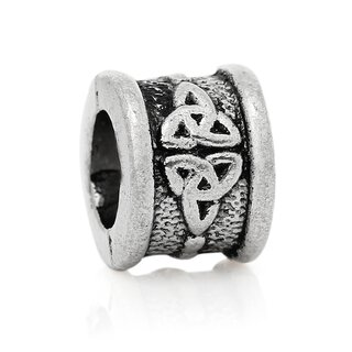 Antiksilber Bead Celtic