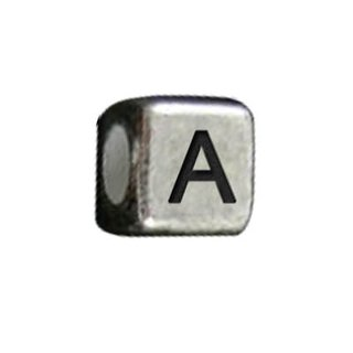Letterbead silber A