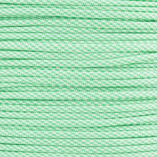 Paracord Typ 3 white / mint cc