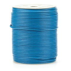 Premium Rundleder blue 2 mm