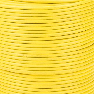 Premium Rundleder yellow 2 mm