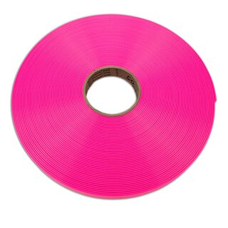 Biothane Gold / 25mm | 2.5mm pink transluscent