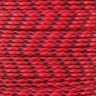 Paracord Typ 3 red blend