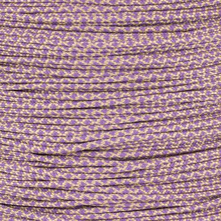 Paracord Typ 1 tan380 lilac diamonds