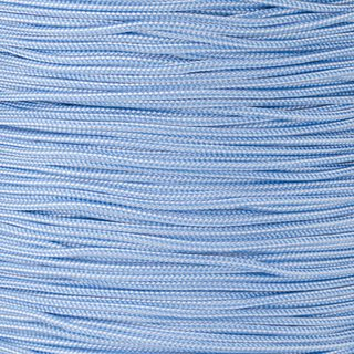 Paracord Typ 1 baby blue white stripe