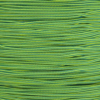 Paracord Typ 1 caribbean blue neon yellow stripe