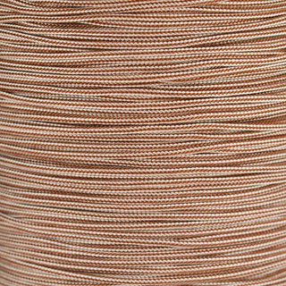 Paracord Typ 1 chocolate brown cream stripe