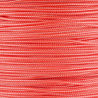 Paracord Typ 1 white neon orange stripe