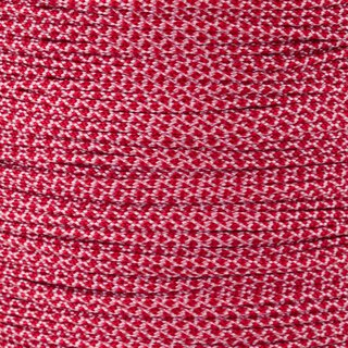 Paracord Typ 1 rose pink imperial red diamonds