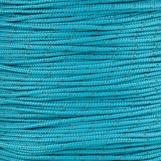 Paracord Typ 1 reflektierend neon turquoise