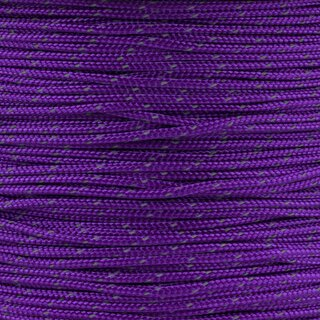 Paracord Typ 1 reflektierend acid purple