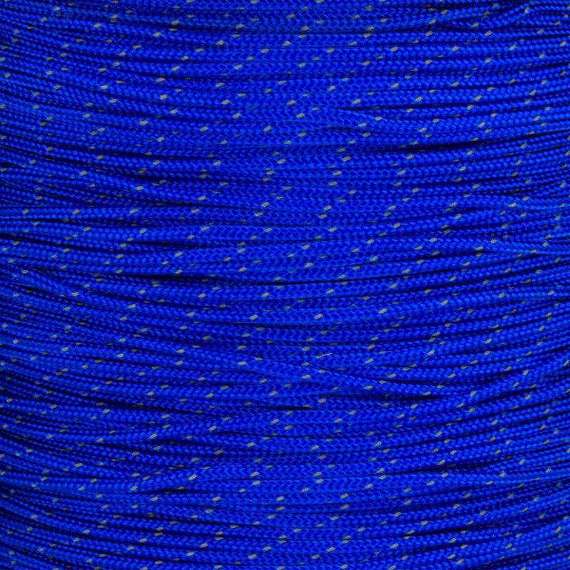 Paracord Typ 1 reflektierend electric blue