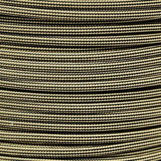 Paracord Typ 3 tan380 black stripe