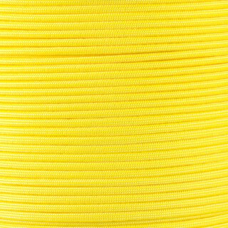 Paracord Typ 3 canary yellow / white stripe